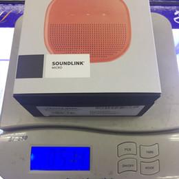 2019 alto-falantes Novo Top Vendendo Mini Portátil Bo SoundLink Micro Bluetooth Speaker sem fio Com Pacote de Varejo Enviar por DHL Livre alto-falantes barato