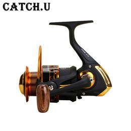 mini carrete de giro Rebajas Reels Catch.U Spinning Reels Bait Reel Fishing Pesca Mini Spinning Full Metal