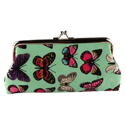 butterfly coins Promo Codes - Women's Cute Butterfly Small Wallet Female Versatile Casual Card Holder Coin Phone Purse Clutch Handbag Portefeuille Femme 2019