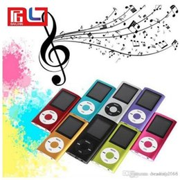 "onn mp3 player Desconto Slim 4TH 1.8 ""LCD MP4 Player MP3 Player de música com 2GB de cartão TF iPod"