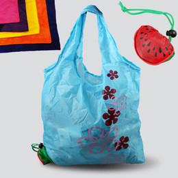 Fruit de la pastèque sac à provisions, environnement respectueux de l'environnement se pliant sac de poignée portatif réutilisable de sac de polyester pour l'épicerie de voyage # 89809 ? partir de fabricateur