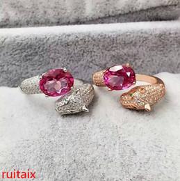 2020 anillos de oro topacio rosa KJJEAXCMY joyería fina de plata de ley 925 con incrustaciones de oro rosa anillo de topacio y hembra de color plata. rebajas anillos de oro topacio rosa