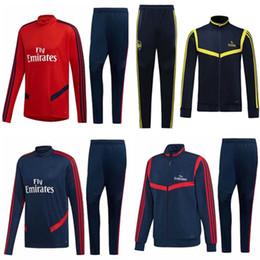 Чандал 2019 2020 Рэмси футбол куртка футбол тренировочный костюм комплект 19 20 Майо де фут Рэмси спортивный костюм куртка набор от