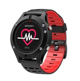 2019 oled relógios Hot F5 tela colorida OLED GPS de posicionamento de pressão de ar altitude medição de temperatura à prova d 'água esportes profissionais relógio inteligente pulseira oled relógios barato