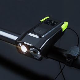 2019 мощные динамики Велосипедные аксессуары Горный свет Фары Велосипедный свет мощный фонарик Динамик Велоспорт оборудование скидка мощные динамики
