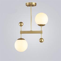 Ul bar on-line-Pós-modern designer de bolas de vidro e14 pingente de luz para sala de jantar sala de estar bar drop iluminação 80-265 v