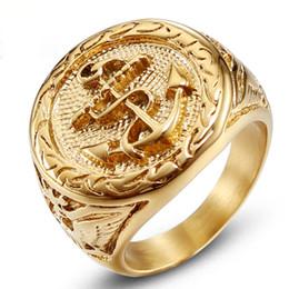 bastoni di corrispondenza all'ingrosso Sconti jingyang in acciaio inox Biker anelli in oro anello semplice di alta qualità in acciaio inox teschio anelli gioielli accessori gioielli