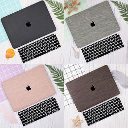 2019 coquille d'ordinateur portable de macbook Motif tissé pour ordinateur portable pour MacBook Pro Retina 12 13 15 pouces tactile bar 2019 2018 Shell Sleeve + Keyboard Cover coquille d'ordinateur portable de macbook pas cher