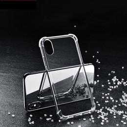 Rüstungsgel online-Transparent-Fall-TPU für 8 8Plus XR XSMax weichen Fall weicher Silikon-Abdeckung Thin Löschen Phone Zurück Rüstung iPhone 6S 7Plus Gel