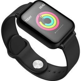 braccialetto intelligente ios Sconti 2019 Android SmartWatch IP67 tocco impermeabile schermo ios smartphone smart watch braccialetto intelligente SmartWatch pressione sanguigna