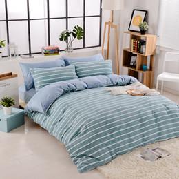 Venda quente novo design quatro temporada usar 100% algodão cores 4 pcs folha define edredão conjunto com folha plana quilt cove de