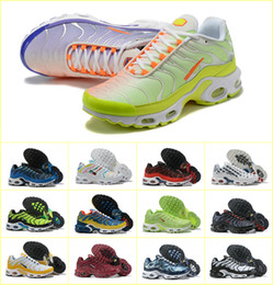 2019 vestir grandes agujeros Alta calidad 2019 zapatos de calidad superior MENs Aire TN de moda deportiva CESTA barato REQUIN malla transpirable CHAUSSURES Homme Noir Zapatos Zapatillaes TN