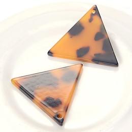 25x29mm ацетат плоский треугольник форма DIY серьги подвески маятник украшения уксусной кислоты свежий порошок для изготовления ювелирных изделий аксессуары от Поставщики каваийская смесь кабоинов