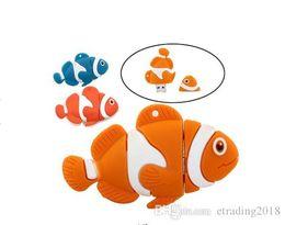 Impulsiones flash de los pescados online-Lovely Fish Usb Flash Drive Pendrive 512M-64GB Pequeño Animal Pen Drive Memory Stick Cartoon USB 2.0