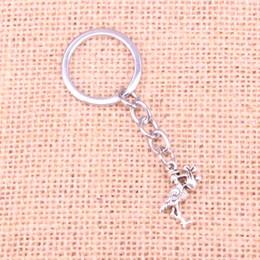 Keychain do pássaro do metal on-line-Nova Moda cegonha baby bird KeyChain Handmade Chaveiro De Metal Presente Do Partido Jóias 23 * 18mm