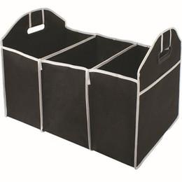 Lagertank online-Faltbare Tasche Auto Organizer Kofferraum Gepäck Lebensmittel Aufbewahrungsbeutel Koffer Kofferraum Organizer Auto Verstauen Aufräumen Innenraum EEA344