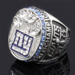 Wholesale 2011 New York Giants Championship Rings europäischen und amerikanischen Vintage Herrenringe Zubehör Ring