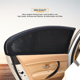 2019 sombra para janelas do carro 2 x Car Rear Side Janela Sun Visor Sombra Escudo capa de malha guarda-sol UV Protector grátis desconto sombra para janelas do carro