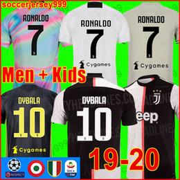 b84427e40 Thailand Juventus soccer jersey football shirt 2019 2020 RONALDO 18 19 20  uniforms champions Bernardeschi DYBALA JUVE EA SPORTS