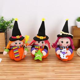 Deutschland Kreative Halloween Kürbis Ornamente Puppe Plüschtiere Geschenk für Kinder Versorgung