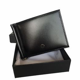 Luxury Men S Leather Credit Card Holder German Brand Designer Slim Pocket Wallet Cash Clip Document Card Holder European Bestseller