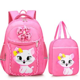 ee12734928 Petminru School Bags For Girls Cartone animato Zaino Sweet Cute Princess  Cat Zaini per bambini Bookbag Sacchetti di scuola primaria