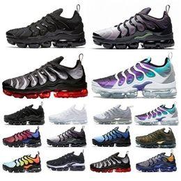 zapatos de color amarillo para los hombres Rebajas Nike air max vapormax Zapatillas de deporte TN Plus Olive para hombre Zapatillas de deporte Hombre Run Metallic White Zapatillas de deporte de color plateado para hombre Triple Black US Sz7-11
