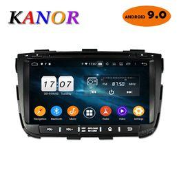cargador de coche mercedes Rebajas KANOR Octa Core IPS Android 9.0 RAM 4g 32g ROM 2 din Radio de coche para KIA Sorento 2013 Radio GPS WIFI Bluetooth Mapa USB Audio dvd del coche
