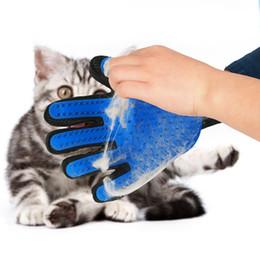 Perro de silicona Para Mascotas pincel Guante Deshedding Suave Eficiente Mascota Aseo Guante Baño para perros Productos de limpieza para gatos Guante para mascotas Peines para perros desde fabricantes