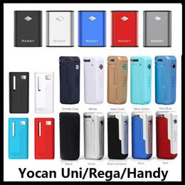 Authentique Yocan Uni Box Mod 10 couleurs Batterie pratique Rega 650mAh Préchauffer VV Vape Batterie pour Vaporisateur à cartouche d'huile épaisse 100% Original ? partir de fabricateur