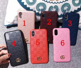 blackberry классический телефон Скидка Мода тиснением цветок бренд печатных телефон чехол для iPhone X 6 S 7 8 Plus XS XS XS max Xsmax 6.5 115