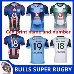 26eec5a8826 BULLS 2019 MARVEL SUPER RUGBY JERSEY 2019 New Super Rugby South African  Marvel Comic Captain America Vodacom Bulls Super Hero Mens Jersey