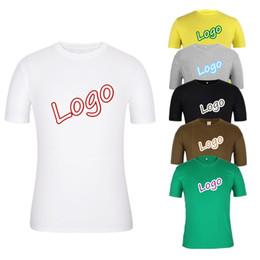 Logos gedruckt porzellan online-China Factory Design Ihr eigenes Logo 100 Baumwolle gedruckt Custom T-Shirt Benutzerdefinierte Bulk Blank Sublimation Plus Größe Plain White Women Shirts Ypf259