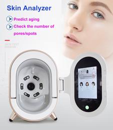 ce relojes Rebajas Mirror Face Led Watch Facial Reveal Imager Analizador de piel Análisis Cámara de alta resolución Proporcionar resultados detallados Dispositivo de página