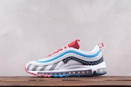 цвет радуги для обуви Скидка 2018 Piet 1 белая радуга парк голландский дизайнер модной повседневной обуви совместные швы контрастного цвета шить ретро кроссовки