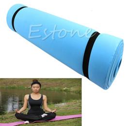 Stuoie di yoga eco online-All'ingrosso-1Pc Nuova schiuma EVA Eco-friendly impermeabile Stuoia Esercizio Yoga Camping Pad materasso a pelo
