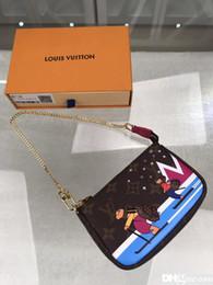 carteira dos comics do dc Desconto Alta qualidade de couro moda top grade homens e mulheres-saco carteira cartão saco de cartão de visita modelo M67769 tamanho15.5cm10.5cm4cm