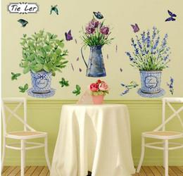 2019 gli autoadesivi della parete della farfalla di vetro Adesivi murali Oggettistica per la casa Vaso da fiori in vaso Farfalla Cucina Finestra Vetro Bagno Decalcomanie impermeabili sconti gli autoadesivi della parete della farfalla di vetro