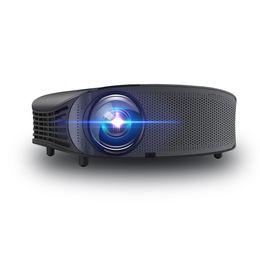 Hdmi pour le projecteur en Ligne-Projecteur vidéo portable YG-600 Prise en charge de projecteur de 1 000 lumens 1080P HD pour entrée vidéo / film / jeu / cinéma maison