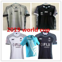 olimpíadas camisetas Desconto 2019 copa do mundo fiji casa branco Rugby camisa Sevens Camisa Olímpica 2019 Nacional 7's Rugby Jersey s-3xl