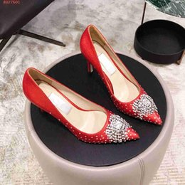 famous high heels brands Coupons - Hot Sale- new Famous brand designer high-heel dress shoes for womens The high quality nail beads women high heels shoes