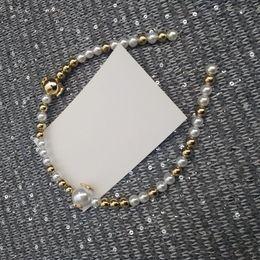 Fasce d'ispirazione ispirate online-nuovo ispirato perle fascia per Ladys raccolta del lotto gli accessori dei capelli fascia capa di perle con simboli c