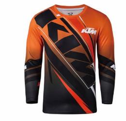 xc bike Sconti 2019 NEW Moto Maglie Moto XC Moto GP Mountain Bike PER ktm Motocross Jersey XC BMX DH MTB T Shirt Vestiti FF