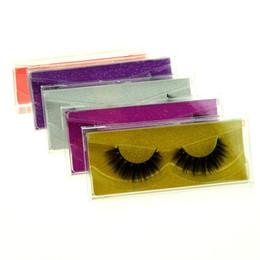 2019 tiras de cílios de cabelo humano Queda 10 pçs / lote 3D Mink cílios Cílios Postiços Natural Longo Falso Extensão Dos Cílios Grosso Faux cílios vison Cruz