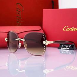 Óculos de sol de grife de luxo para as pernas de fibra de carbono Homens Fashion Designer Oval de vidro Sun Quadro revestimento de espelho UV400 Lens Verão Estilo Eyewear de