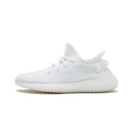 размеры замороженной обуви Скидка Kanye West v2 Мужчины Desinger Тройной Running Открытый обувь Женщины Тренеры Замороженный желтый крем Zebra Бред размер Спорт Zapatos кроссовки 13 ZH0609