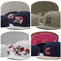 Мода Cayler Sons Snapback Cap Цветы Череп Пончик Мужчины Женщины Шляпы Бренд Дизайнер Спорт На Открытом Воздухе Хип-Хоп Регулируемая Шляпа Бейсболка от Поставщики красный колпачок