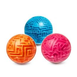 Jogo intellect on-line-Labirinto Bola Mini Magic 3D Labirinto Inteligente Crianças Equilíbrio Crianças Lógica Habilidade Jogo de Puzzle Educacional Ferramentas de Treinamento para criançasAdultos