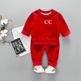 vêtements en gros pour adolescents Promotion HOT En stock Meilleures ventes top designer marque 1-4 ans vêtements FILLES GARÇONS BÉBÉS + pantalon coco de haute qualité