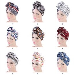2019 turban party hijab Popolare New fashion Elegante 3D Fiore Turbante Donne Cancro Chemo Berretti Cappelli Musulmano Turbante Party Hijab Headwear Accessori per capelli turban party hijab economici